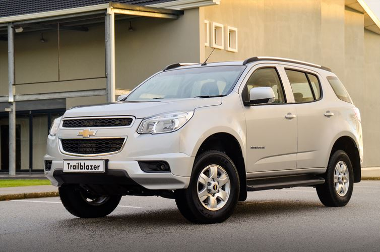 Trailblazer upgraded for 2014